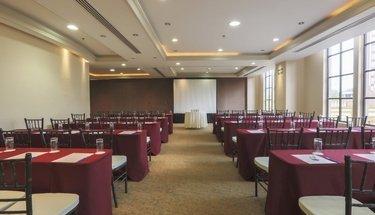 Sala de reuniões Hotel Krystal Monterrey Monterrey