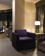 Sala de estar Hotel Krystal Monterrey Monterrey