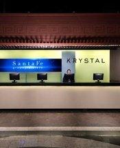 Recepção Hotel Krystal Monterrey Monterrey
